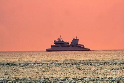 Photograph - Cruise At Dusk by Susan Stevenson