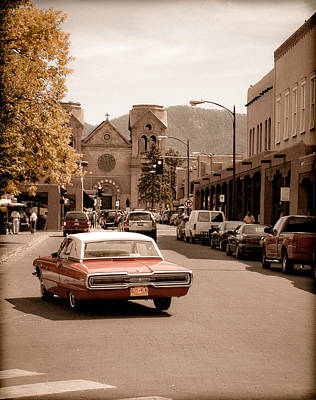Photograph - Santa Fe, New Mexico - Cruising Santa Fe by Mark Forte