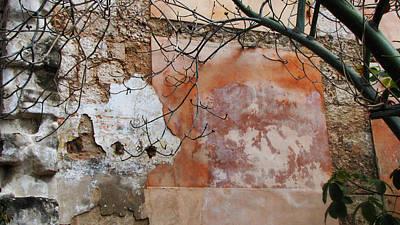 Crumbling Wall Art Print by Kimberley Bennett