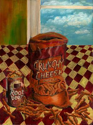 Painting - Crunchy Cheese - Autumn by Thomas Weeks