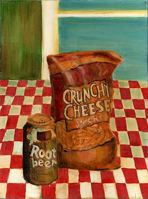 Painting - Crunchy Cheese - Summer by Thomas Weeks