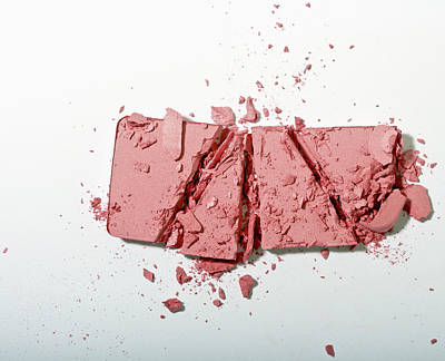 Y120817 Photograph - Crushed Powder Blush by Larry Washburn