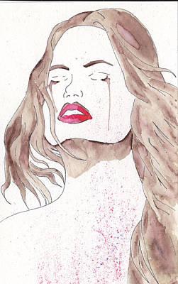 Crying Girl Original by Jona Henshall