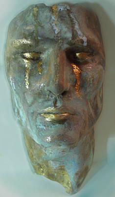 Crying Mask 1 Original by Mark  Bonner