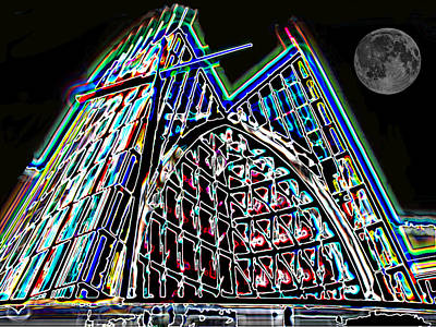 Photograph - Crystal Cathedral 2 by Samuel Sheats