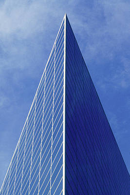 Photograph - Crystal Cathedral by Mark Greenberg