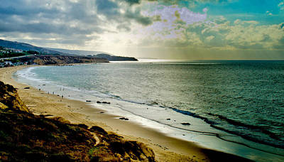 Art Print featuring the photograph Crystal Cove Beach by Joseph Hollingsworth