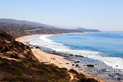 Outlook Photograph - Crystal Cove Orange County California by Paul Velgos