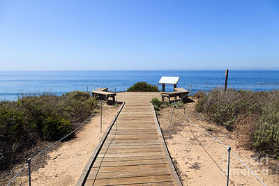 Crystal Cove State Park Ocean Overlook Art Print
