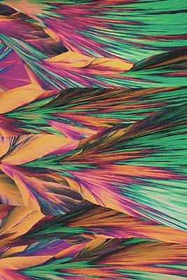 Crystal Micro Structure Art Print by John Foxx