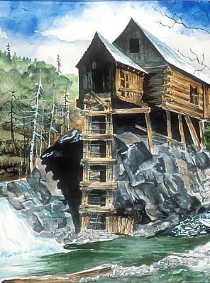 Painting - Crystal Mill Colorado by Richard Mordecki