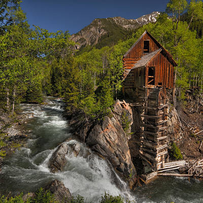 Photograph - Crystal Mill by Ryan Heffron