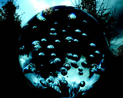 Balck Art Photograph - Crystal Moode by Colette V Hera  Guggenheim