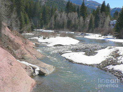 Crystal River Colorado Art Print