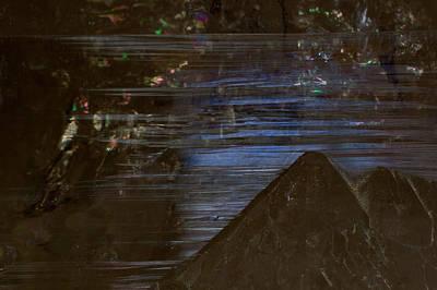 Smokey Quartz Photograph - Crystalline Horizon by Allen Lefever
