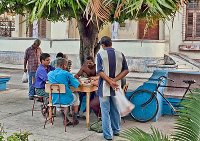 Photograph - Cuba. Dominoes Players by Juan Carlos Ferro Duque