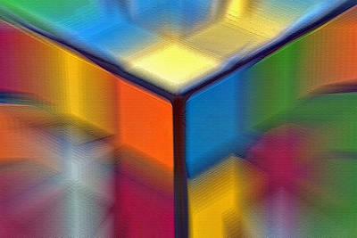Cubed 1 Art Print by Steve Ohlsen