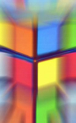 Cubed 2 Art Print by Steve Ohlsen