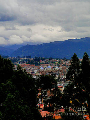 Immaculate Photograph - Cuenca Nestled In The Andes by Al Bourassa