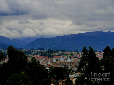 Immaculate Photograph - Cuenca Nestled In The Andes IIi by Al Bourassa