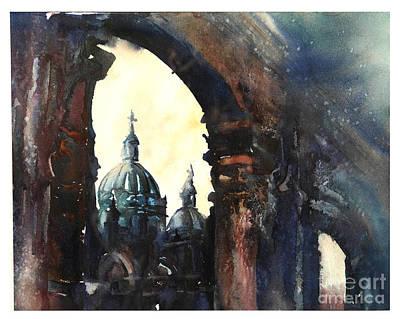 Newton Painting - Cuenca Sunrise by Ryan Fox