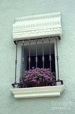 Art Print featuring the photograph Cuernavaca Window  Mexico by John  Mitchell