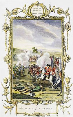 Culloden Battle, 1746 Art Print