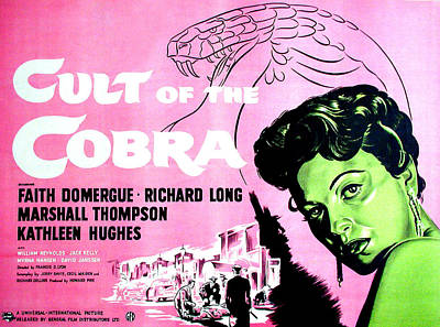 Cult Of The Cobra, Faith Domergue Art Print