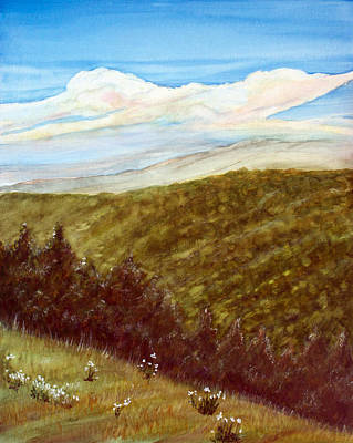 Painting - Cumberland Mountains by Dorothy Riley