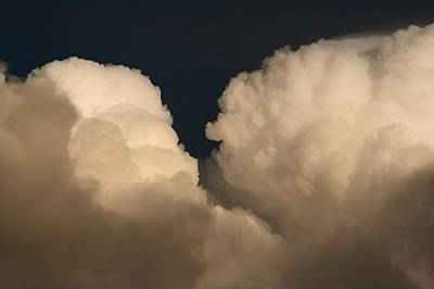 Photograph - Cumulus Clashers by Louise Mingua