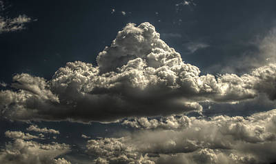Photograph - Cumulus Nimbus 1 by John Brink
