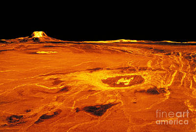 Photograph - Cunitz Crater Of Venus by Nasa