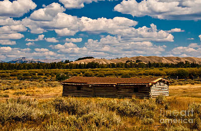Photograph - Cunningham Cabin II by Robert Bales
