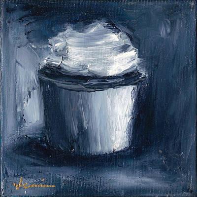 Jeannine Painting - Cupcake 101 by Jeannine Luke