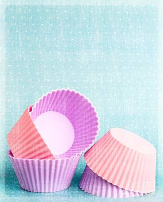 Cupcake Art Print by Edward Fielding