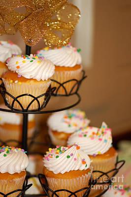 Cupcakes Anyone Art Print by Melissa Haley