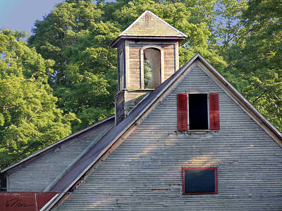Photograph - Cupola In Light by Nancy Griswold