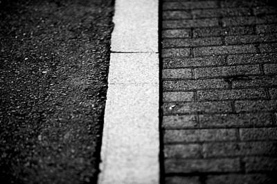 Photograph - Curb by Frank DiGiovanni