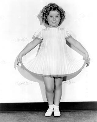 Curly Top, Shirley Temple, 1935 Art Print by Everett