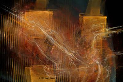 Digital Art - Current by John Knapko