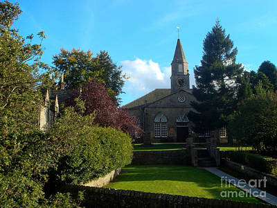 Photograph - Currie Kirk by Yvonne Johnstone