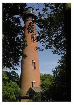 Currituck Beach Lighthouse Art Print by Frank Wickham