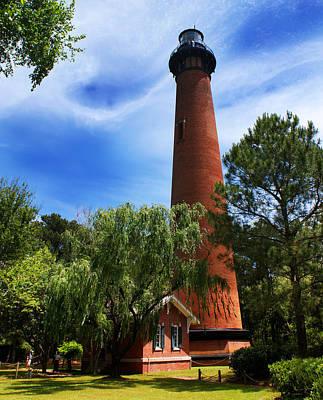 Photograph - Currituck Beach Lighthouse by Paul Mashburn