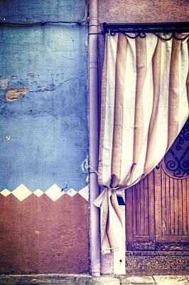 Symmetry Photograph - Curtain by Joana Kruse