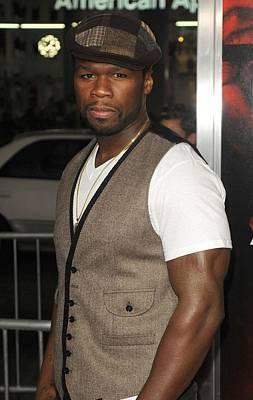 50 Cent Photograph - Curtis Jackson 50 Cent At Arrivals by Everett