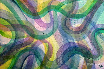 Painting - Curvy by Holly York