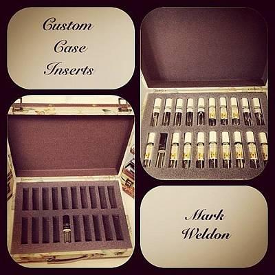 Case Photograph - #custom #case #inserts by Mark Weldon