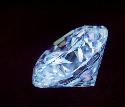 Cut Diamond Art Print