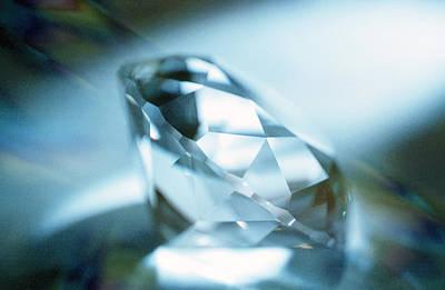 Cut Diamond Art Print by Pasieka