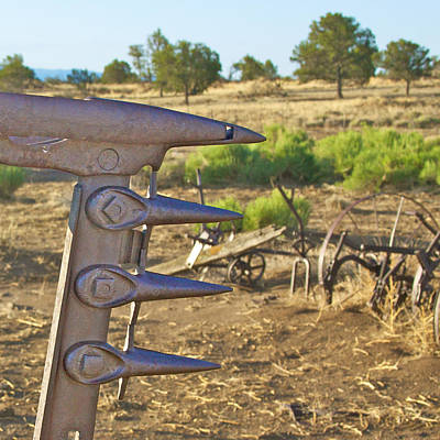 Old Farm Machinery Photograph - Cutting Edge by Kurt Gustafson